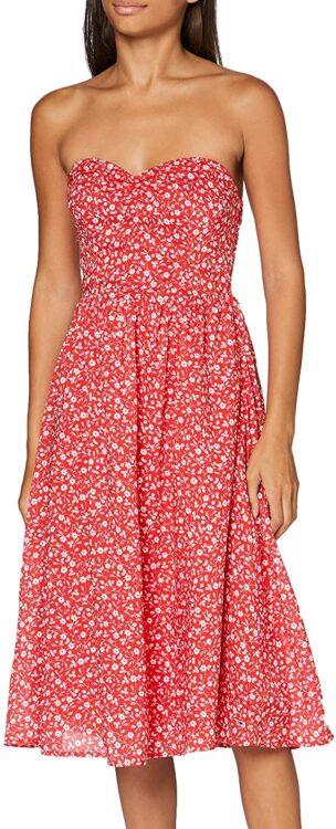 vestido floral tommy hilfiger mujer