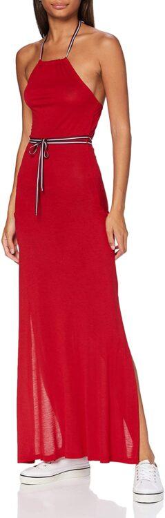 vestido tommy hilfiger rojo