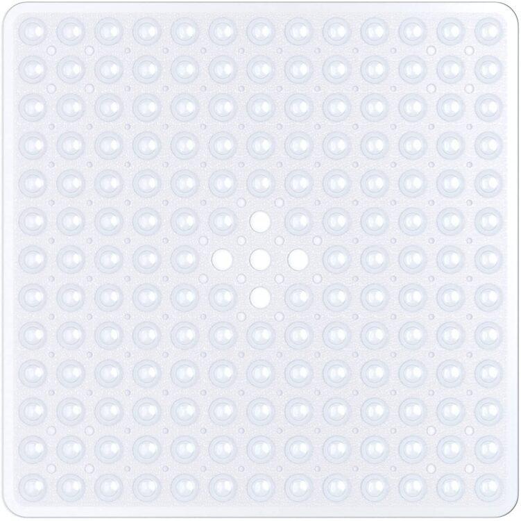 alfombrilla antideslizante para ducha cuadrada