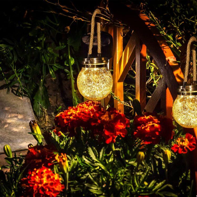 iluminacion jardin amazon